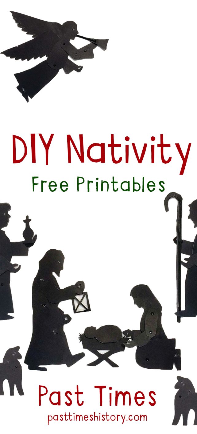Free DIY Nativity printables for the family! Have lots of fun with these awesome printable resources.