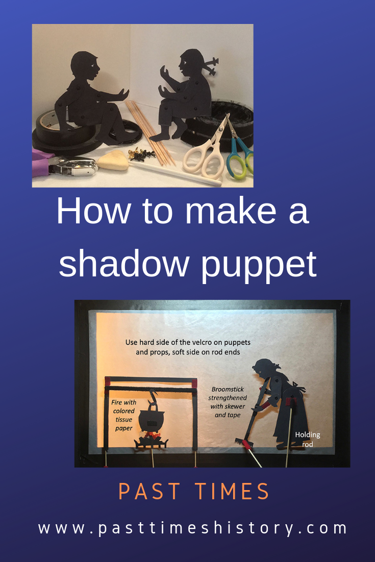 Tutorial about making shadow puppets