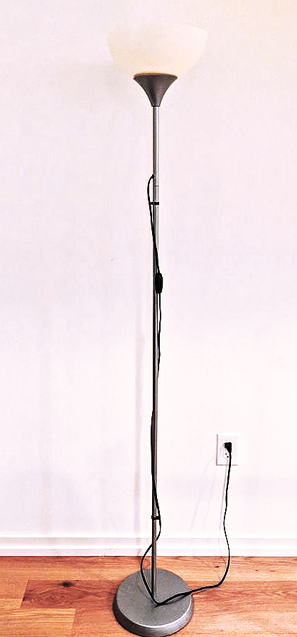 lamp pole used for portable shadow puppetry screen