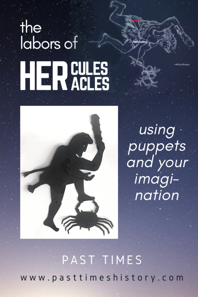 Hercules labors: using puppets and your imagination